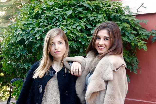 Blonde & Brunette