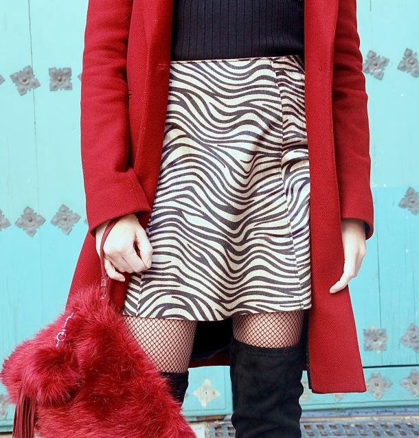 falda Animal print