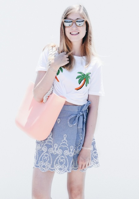 Falda-pantalón Zara