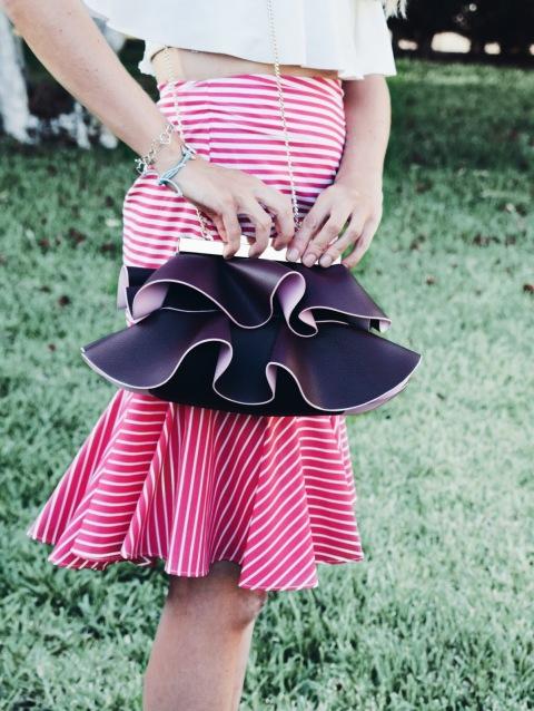 Bolso volantes Zara