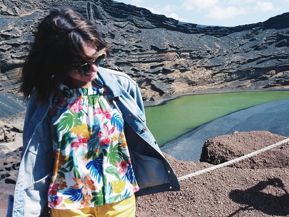 El lago Verde, Lanzarote