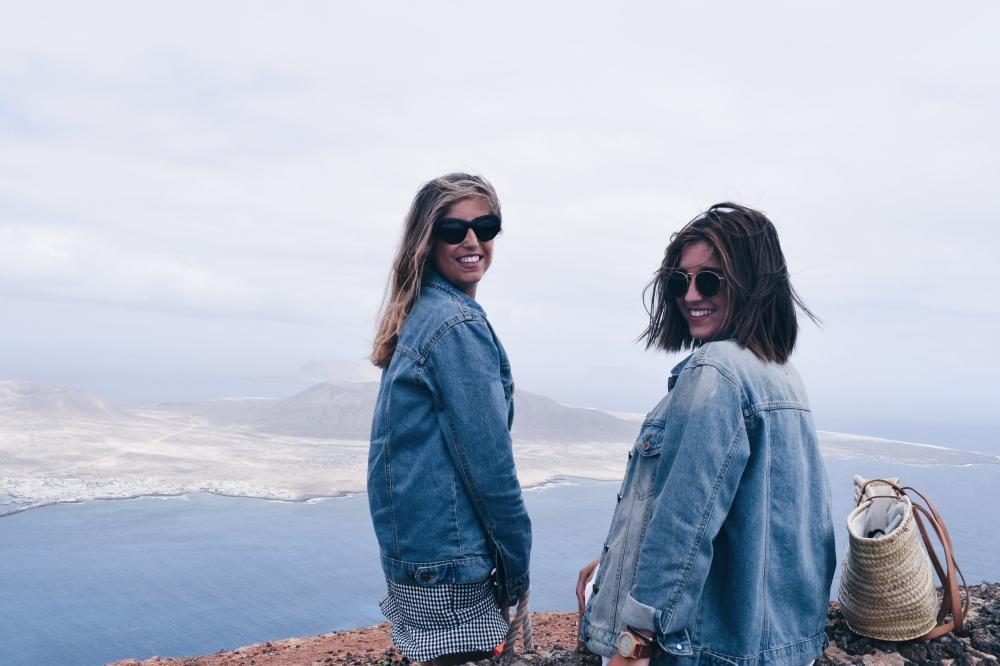 Vistas desde Lanzarote