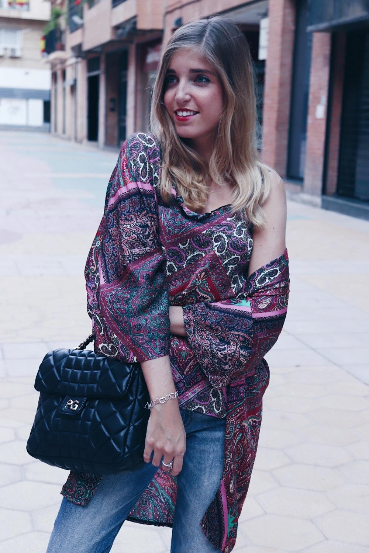 Kimono étnico